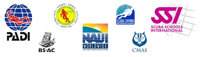 Scuba Diving Training Agencies