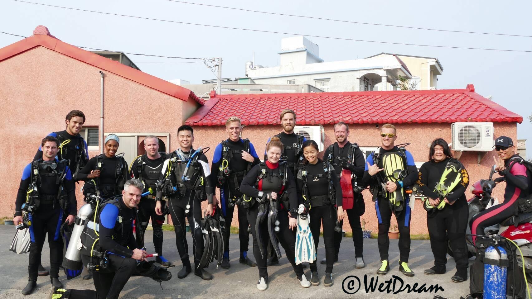 WetDream Divers LiuQiu