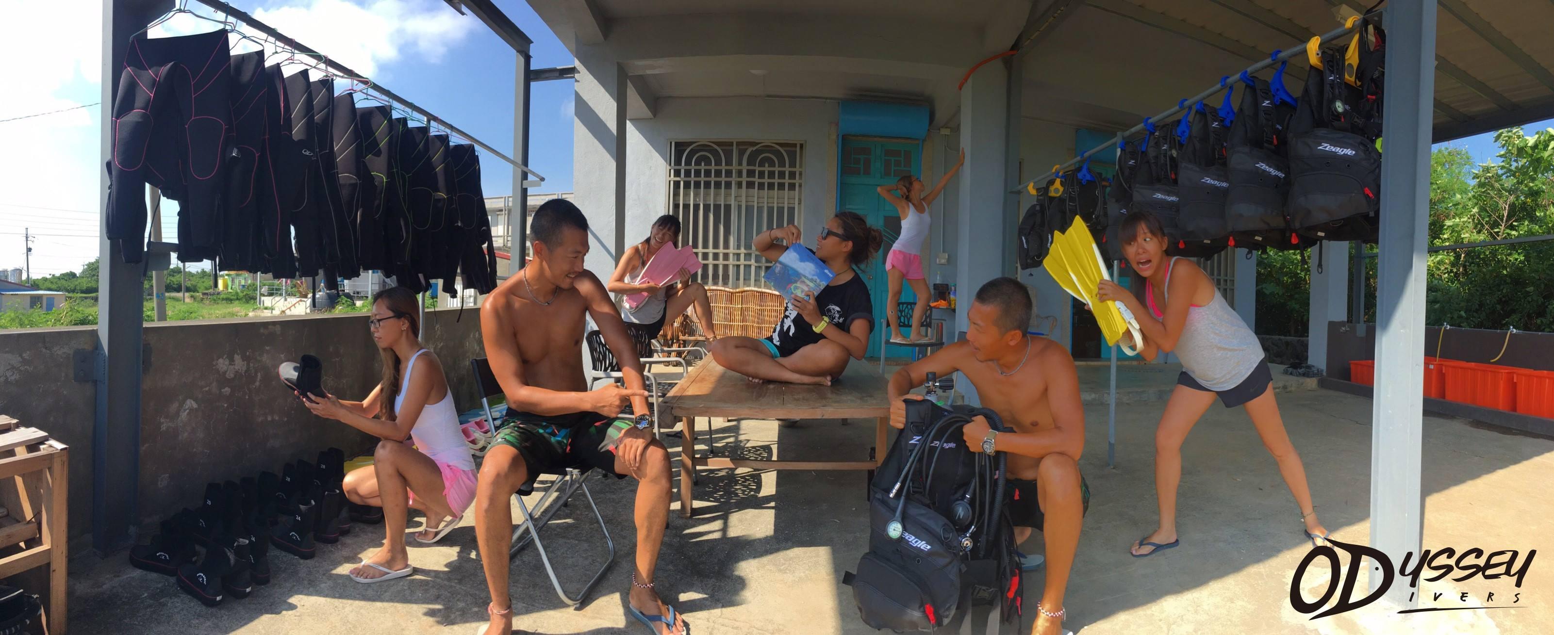 Odyssey Divers Hostel 奧之海潛水旅宿