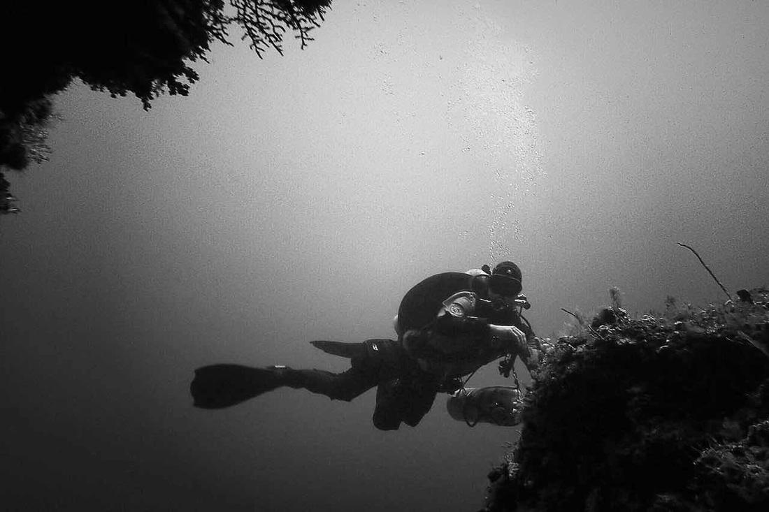 Tim Blömeke TDI tech diving training